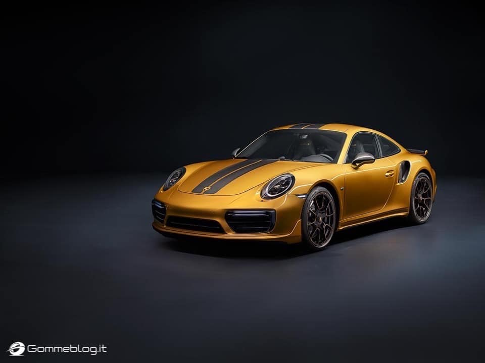 Porsche 911 Turbo S Exclusive Series: VIDEO COME è FATTA 17