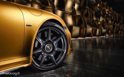 Porsche 911 Turbo S Exclusive: Cerchi in Lega in Carbonio