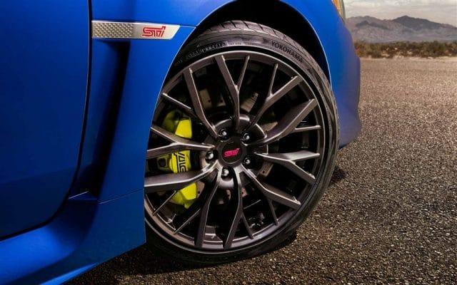 Pneumatici Subaru: Yokohama ADVAN Sport V105 per WRX STi 1