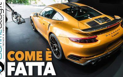 Porsche 911 Turbo S Exclusive Series: VIDEO COME è FATTA