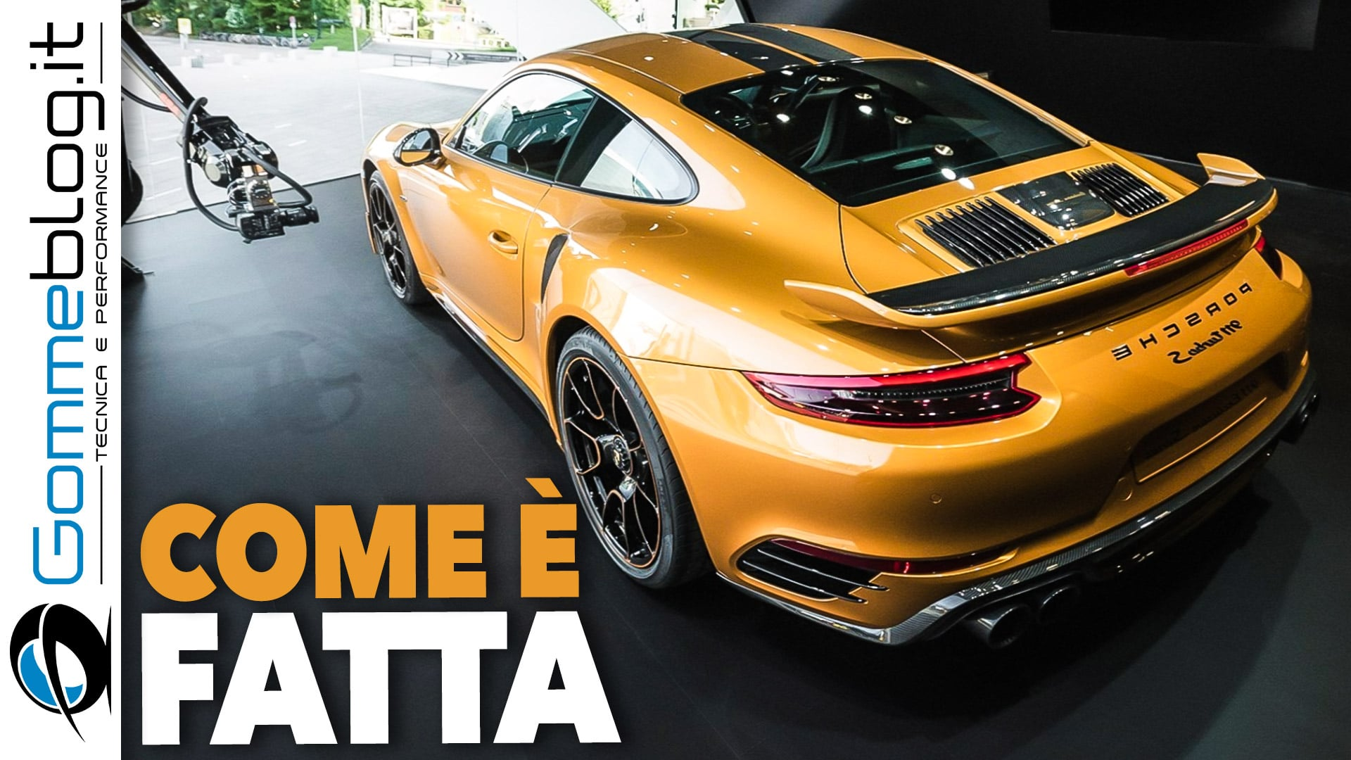 Porsche 911 Turbo S Exclusive Series: VIDEO COME è FATTA 5