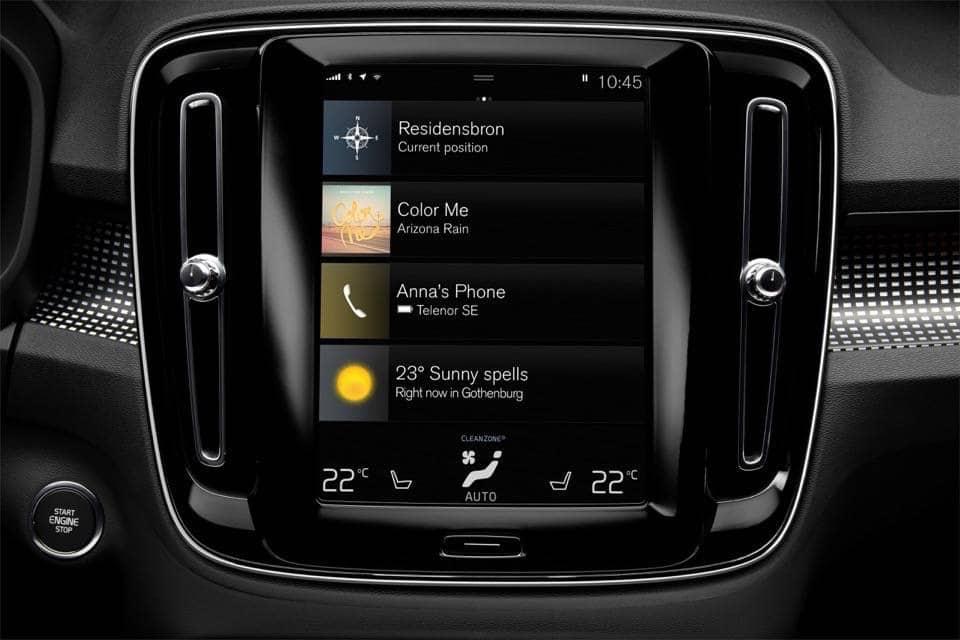 Volvo XC40: il nuovo SUV compatto di lusso 24
