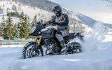 Guidare la moto in inverno, grazie a Metzeler si può