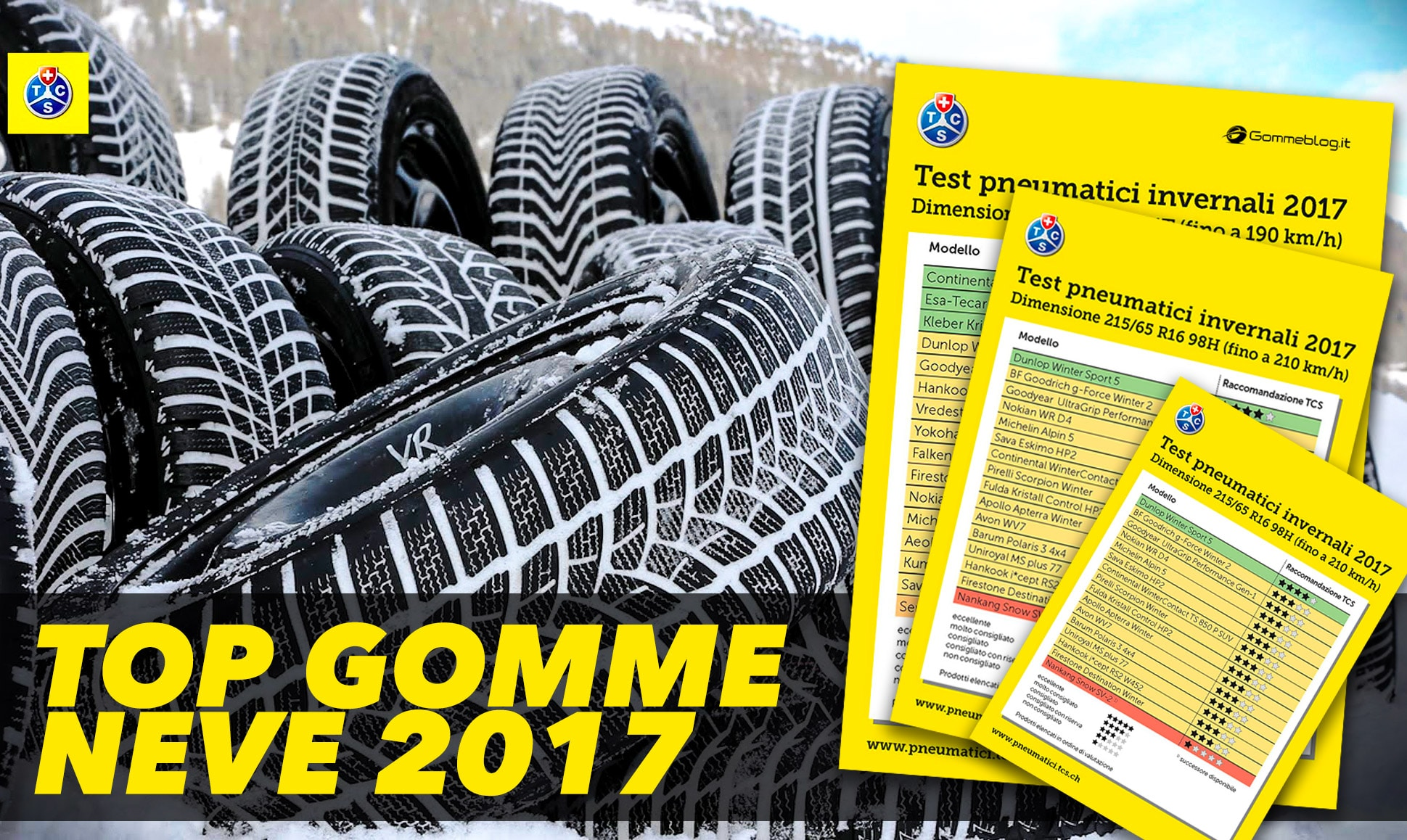 Test Pneumatici Suv 2017 Gomme Estive Tcs 215 65 R16 102 H