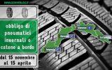 Ordinanze Pneumatici Invernali 2017: LIGURIA