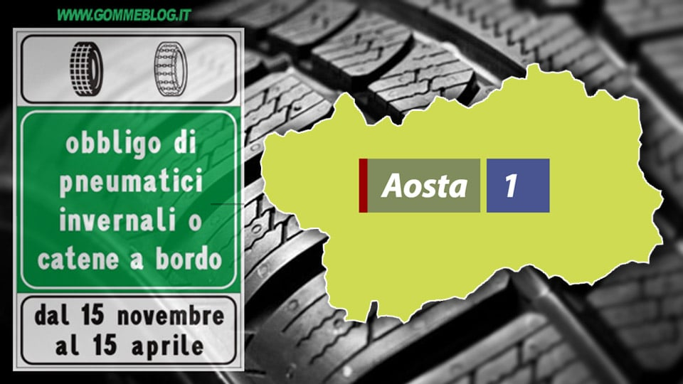 Ordinanze Pneumatici Invernali 2017: VALLE D'AOSTA 18
