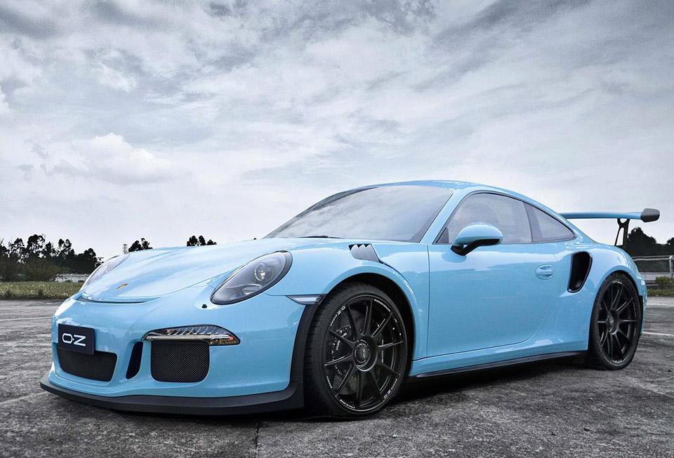 Cerchi in Lega Porsche: OZ omologa nuove ruote per 911