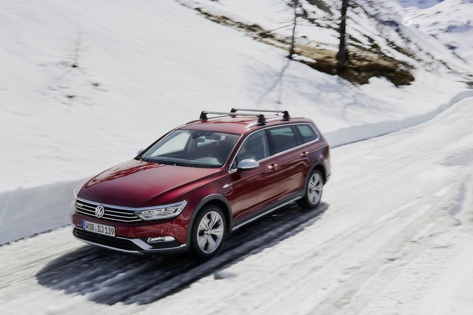 Volkswagen Passat 2018: 35 anni di trazione integrale
