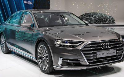 Nuova Audi A8 : Ecco i pneumatici Goodyear di 1 equipaggiamento