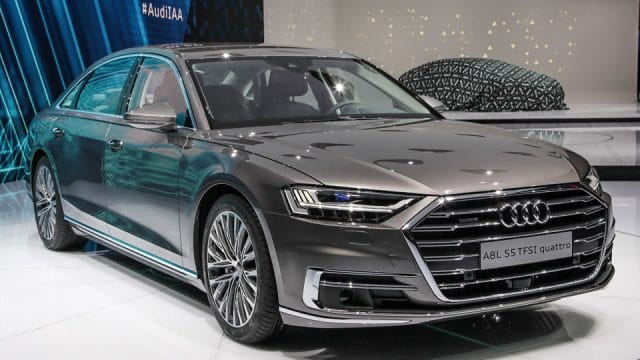 Nuova Audi A8 : Ecco i pneumatici Goodyear di 1 equipaggiamento 1