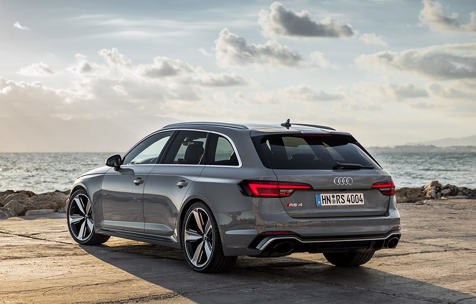 Nuova Audi RS4: per lei gomme Hankook UHP Ventus S1 evo²