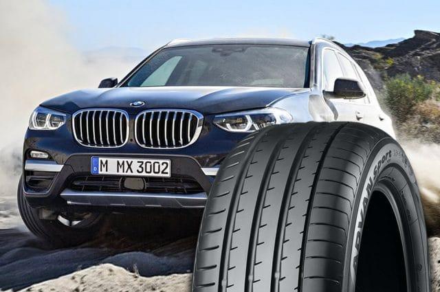 Pneumatici Nuova BMW X3: Yokohama ADVAN Sport V105 1