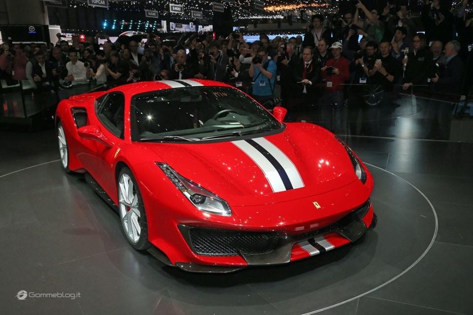 Ferrari 488 Pista e gomme Michelin Pilot Sport Cup 2 K2: Top Performance 1