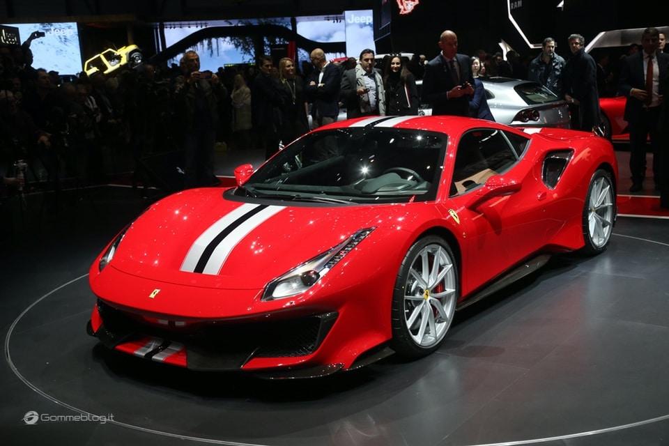 Ferrari 488 Pista e gomme Michelin Pilot Sport Cup 2 K2: Top Performance 5