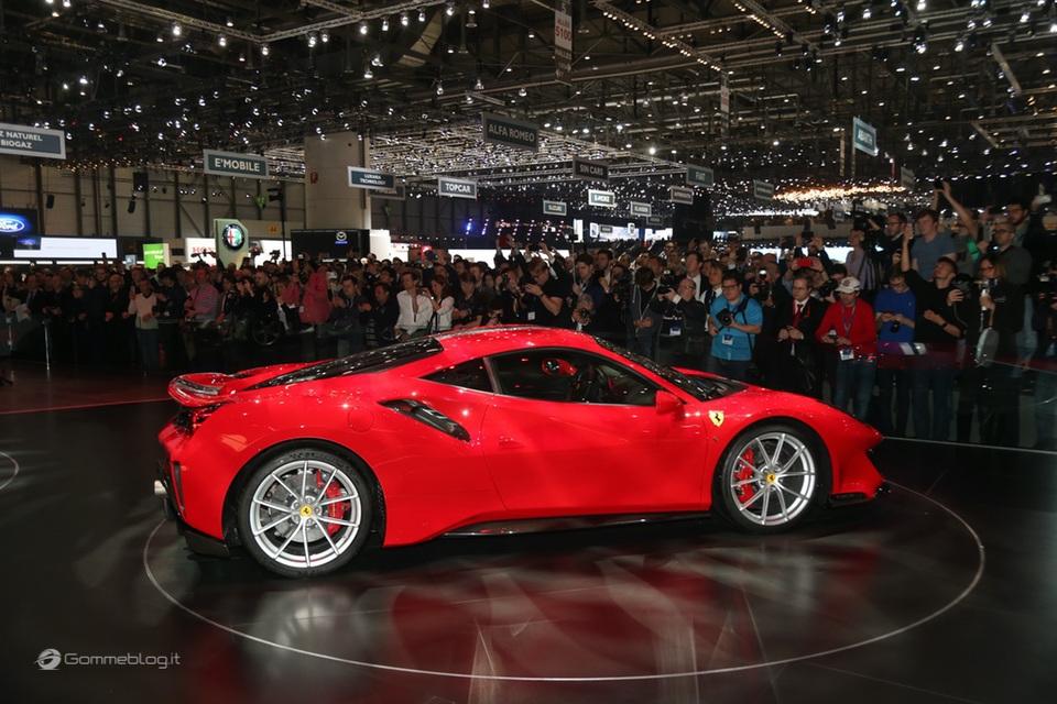 Ferrari 488 Pista e gomme Michelin Pilot Sport Cup 2 K2: Top Performance 7