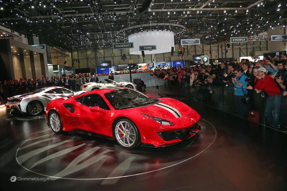 Ferrari 488 Pista e gomme Michelin Pilot Sport Cup 2 K2: Top Performance 8