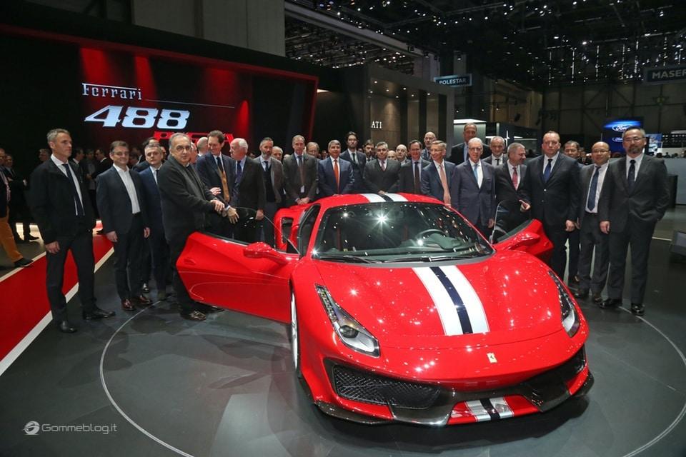 Ferrari 488 Pista e gomme Michelin Pilot Sport Cup 2 K2: Top Performance 9