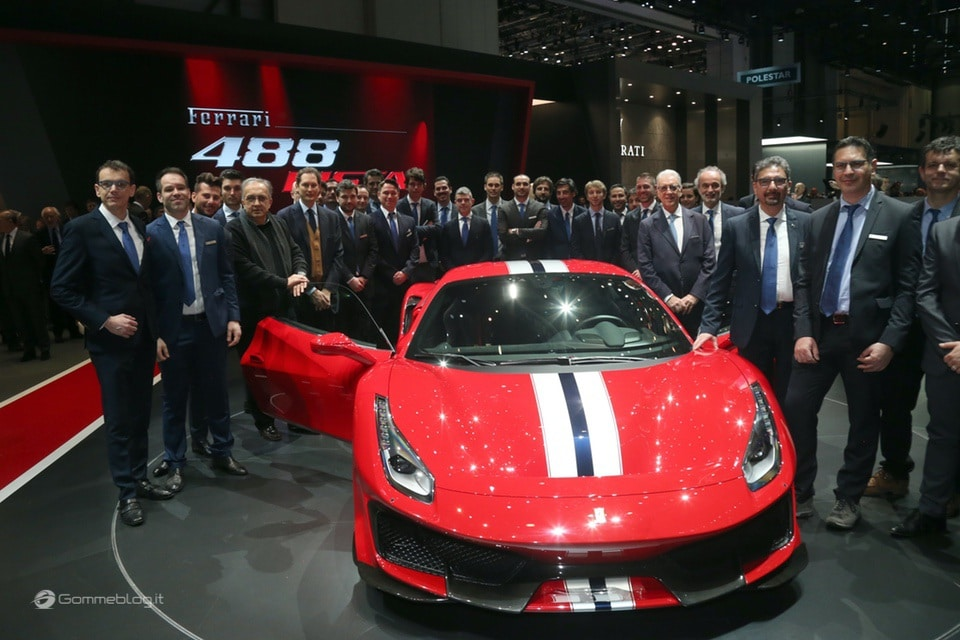 Ferrari 488 Pista e gomme Michelin Pilot Sport Cup 2 K2: Top Performance 10