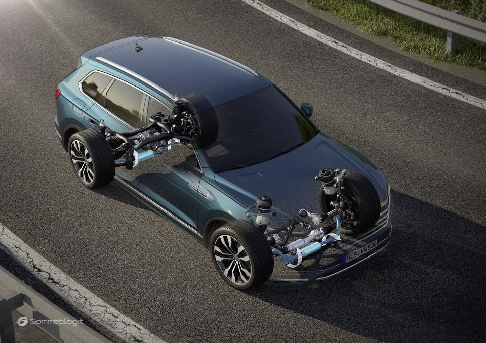 Nuova VW Touareg: Ecco come funziona la stabilizzazione del rollio 20