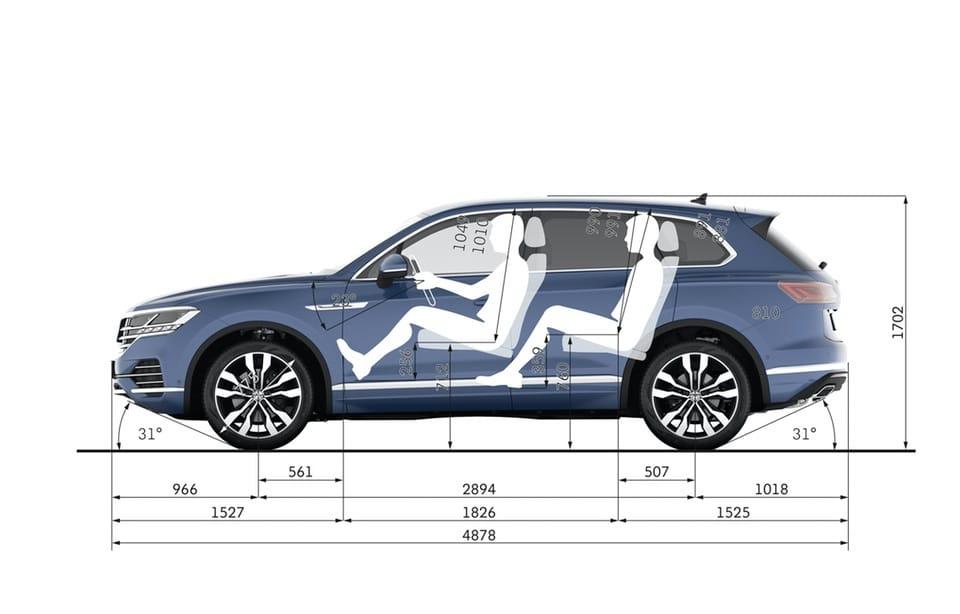 Nuova VW Touareg: Ecco come funziona la stabilizzazione del rollio 12