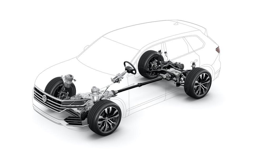 Volkswagen Touareg: Tutta Nuova  e Super Tecnologica 18