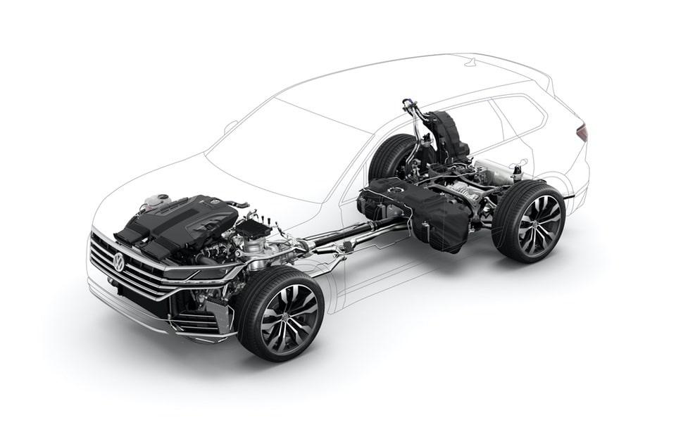 Nuova VW Touareg: Ecco come funziona la stabilizzazione del rollio 7