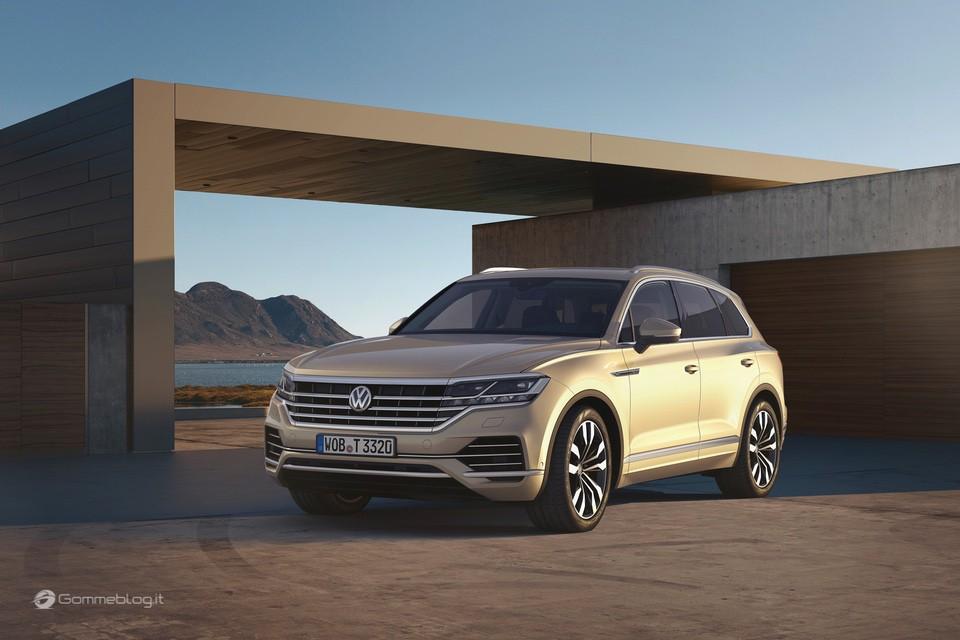 Nuova VW Touareg: Ecco come funziona la stabilizzazione del rollio 8
