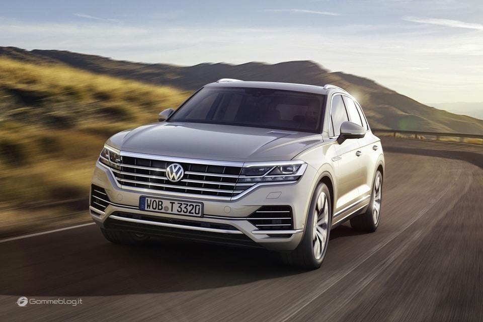 Nuova VW Touareg: Ecco come funziona la stabilizzazione del rollio 9