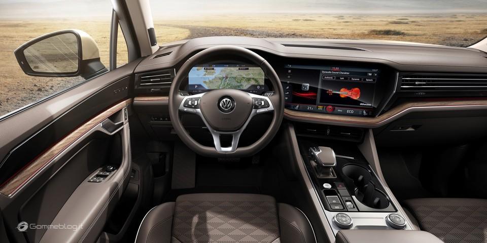 Nuova VW Touareg: Ecco come funziona la stabilizzazione del rollio 16