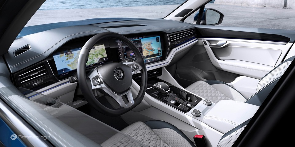 Nuova VW Touareg: Ecco come funziona la stabilizzazione del rollio 6