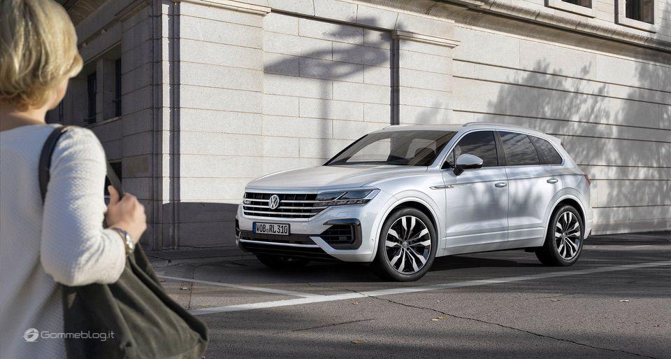 Nuova VW Touareg: Ecco come funziona la stabilizzazione del rollio 3