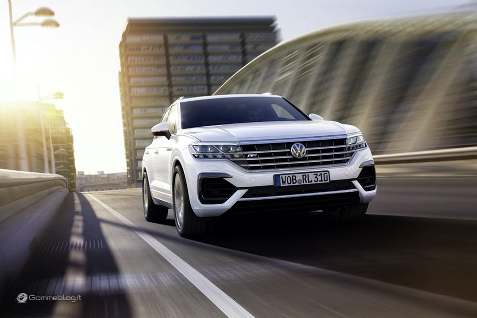 Volkswagen Touareg: Tutta Nuova  e Super Tecnologica