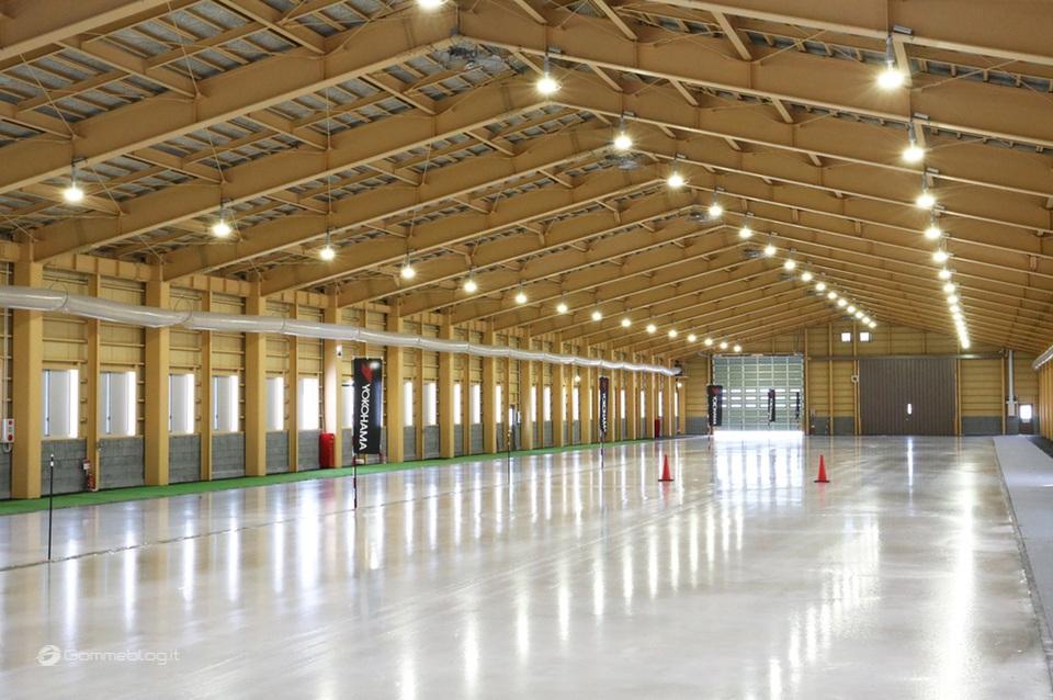 Test Pneumatici Invernali sul Ghiacchio: Nuovo Centro Prove Yokohama 2