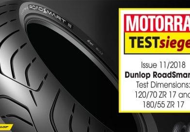 Pneumatici Moto Sport Touring: Dunlop RoadSmart 3 Vince i Test di Motorrad