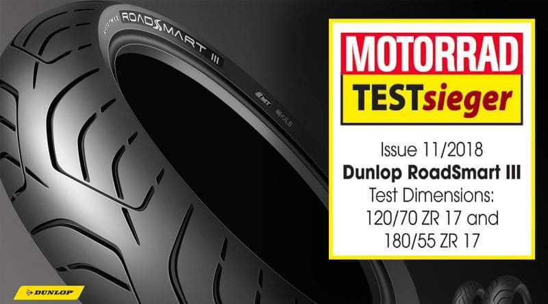 Pneumatici Moto Sport Touring: Dunlop RoadSmart 3 Vince i Test di Motorrad 4