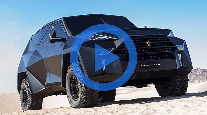 Karlmann King, il SUV più Costoso del Mondo da 3.8 Millioni di $ 12