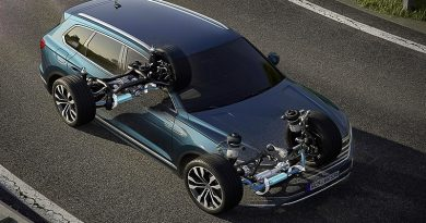Nuova VW Touareg: Ecco come funziona la stabilizzazione del rollio 1