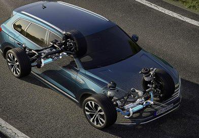Nuova VW Touareg: Ecco come funziona la stabilizzazione del rollio