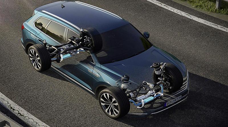 Nuova VW Touareg: Ecco come funziona la stabilizzazione del rollio 5