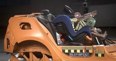 Test Seggiolini Auto 2018: OK l'airbag per bambini e il rialzo iSize