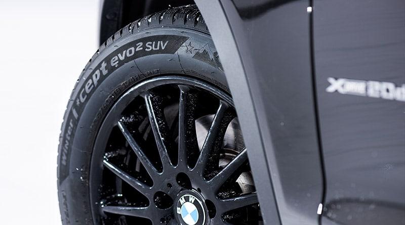Pneumatici BMW X3: Gomme SUV Hankook come primo equipagiamento 9