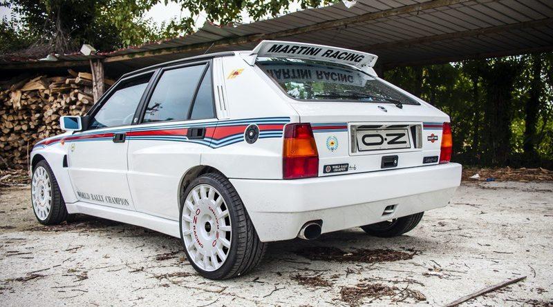 Cerchi Rally Racing omologati per Lancia Delta Evoluzione 4