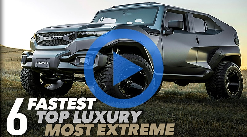 TOP 6 SUV 2019: I più estremi, veloci e lussosi in commercio [VIDEO] 11