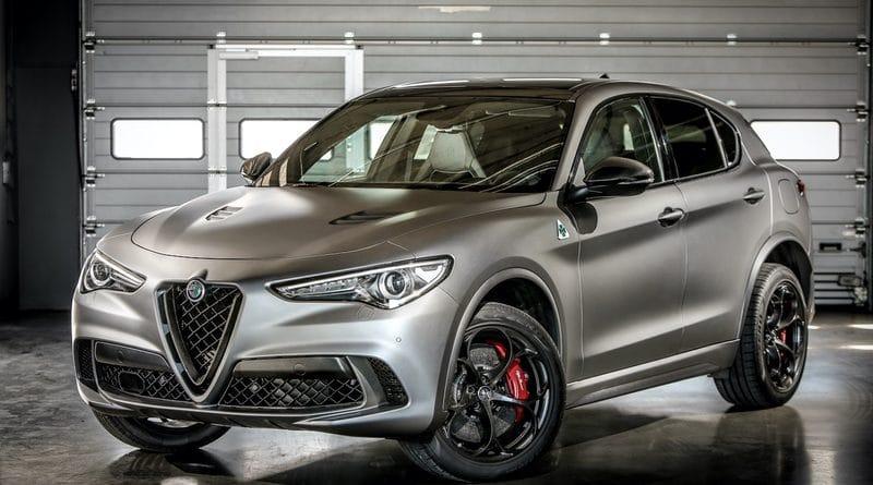 """Alfa Romeo Giulia Quadrifoglio e Stelvio Quadrifoglio """"NRING"""" 8"""