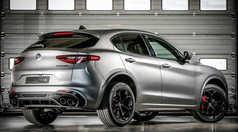 """Alfa Romeo Giulia Quadrifoglio e Stelvio Quadrifoglio """"NRING"""" 9"""