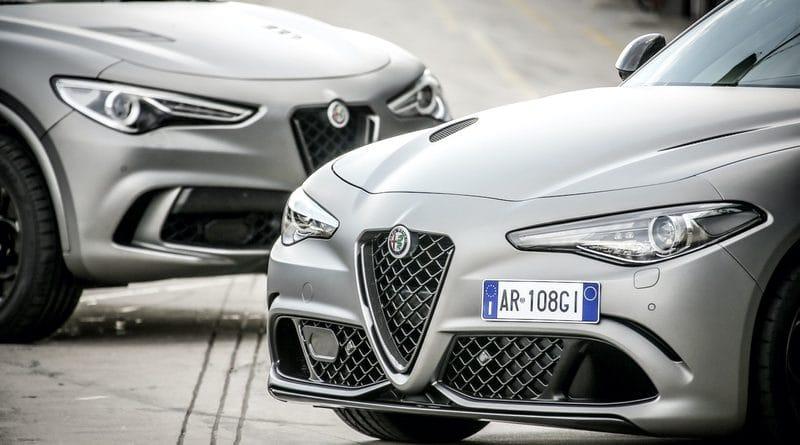 """Alfa Romeo Giulia Quadrifoglio e Stelvio Quadrifoglio """"NRING"""" 10"""