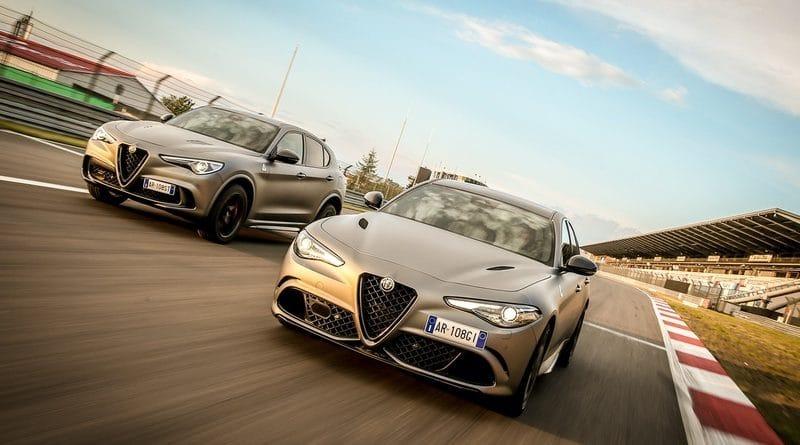 """Alfa Romeo Giulia Quadrifoglio e Stelvio Quadrifoglio """"NRING"""" 11"""