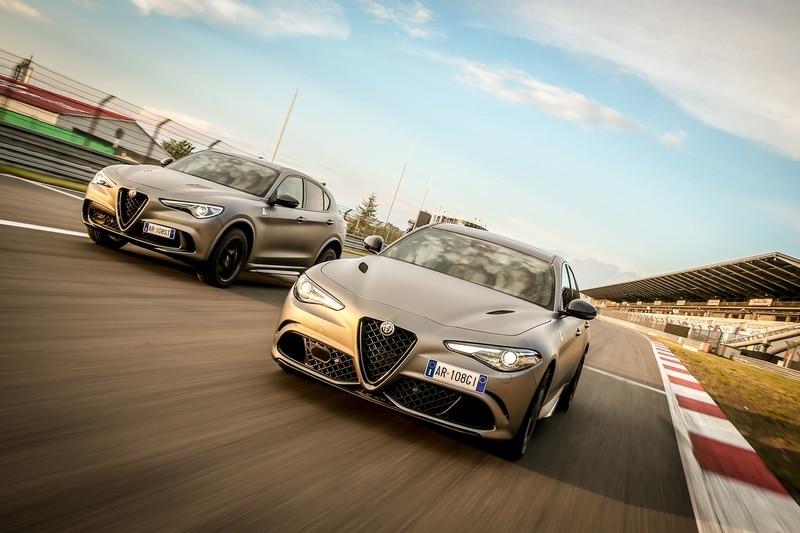 """Alfa Romeo Giulia Quadrifoglio e Stelvio Quadrifoglio """"NRING"""" 1"""
