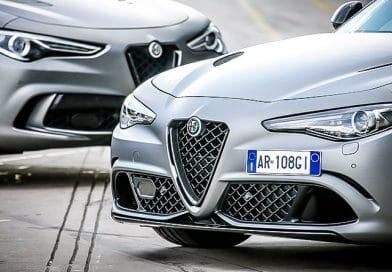 """Alfa Romeo Giulia Quadrifoglio e Stelvio Quadrifoglio """"NRING"""""""