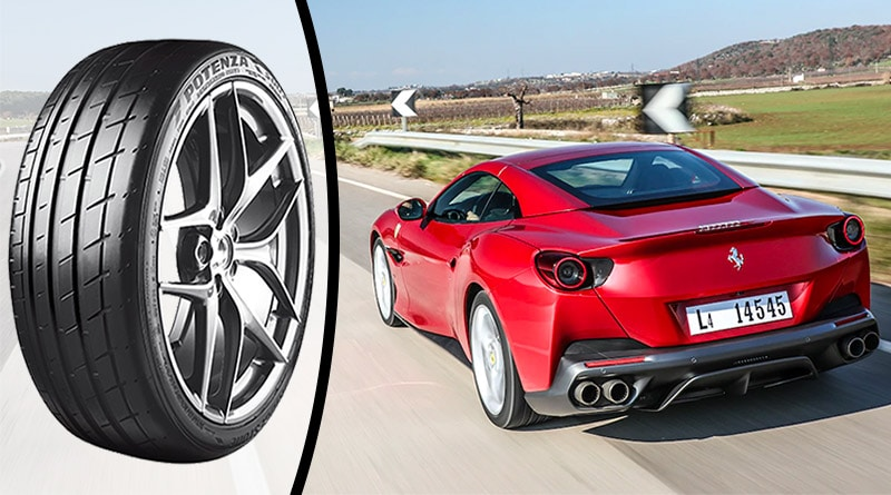 Ferrari sceglie Bridgestone per la cabrio sportiva Portofino 4